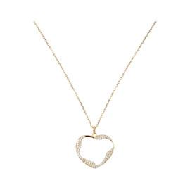 Tilyon Twist Heart Necklace - NK-3130