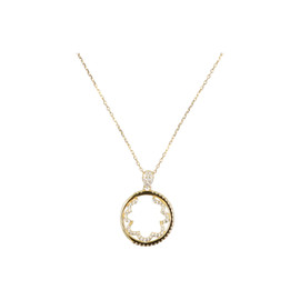 Tilyon Ring & Swirl Necklace - NK-3132