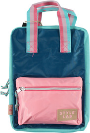 Fasion Angels Mini Backpack ECO-Friendly TURQ/PINK - 77950