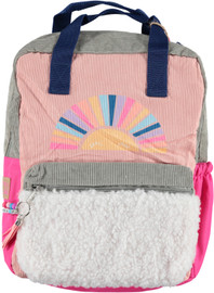 Fasion Angels Backpack ECO-Friendly Pink Corduroy - 77896