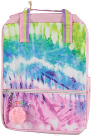 Fasion Angels Backpack ECO-Friendly Tie Dye Baby Pink - 77972