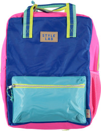 Fasion Angels Backpack ECO-Friendly BLUE/TURQ - 77947