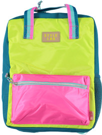 Fasion Angels Backpack ECO-Friendly LIME/PINK - 77948