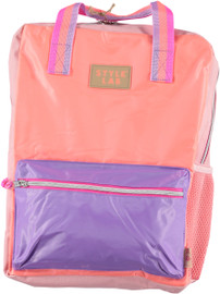 Fasion Angels Backpack ECO-Friendly CORAL/LAVENDER - 77949