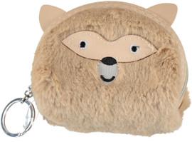 Furry Koala Coin Purse Keychain - KCE0535