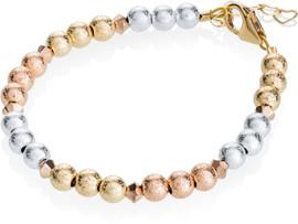 Crystal Dream Tri-Color Beaded Bracelet - B1905-S