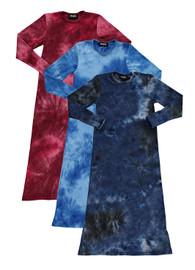 Basiq Girls Ribbed Tie Dye Nightgown - BA-006