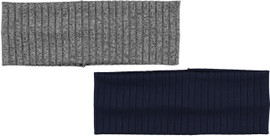 Riqki Womens Wide Ribbed Headband - HS2061