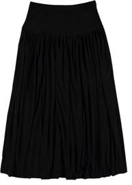 BGDK Womens Gathered Pleat Slinky Skirt - JH-270