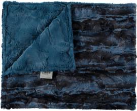 Luxe Denim/Jupiter Blue Blanket-SB4