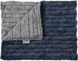 Iced Chinchilla Gray/Iced Chinchilla Navy Blanket-SB6