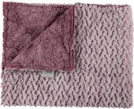 Heather Luxe Sangria/Ridge Mauve Blanket-SB8