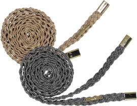 Cherie Womens Lurex Braid Belt - BLT-156A