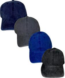 Riqki Womens Cotton Denim Cap - HS2023