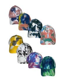 Riqki Womens Cotton Tie Dye Cap - HS2029