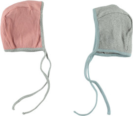 Tiny Cuddlez Ribbed Unisex Baby Bonnet - AW-0743