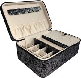 Bari Lynn Jewelry Box- Black