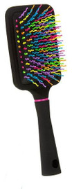 Rainbow Squiggle Paddle Hair Brush - TSB1145