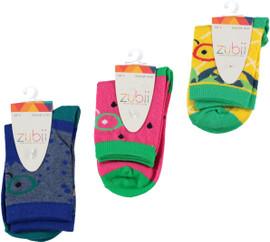 Zubii Girls Ankle Socks - Style 791