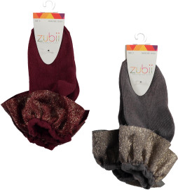 Zubii Girls Ankle Socks - Style 910