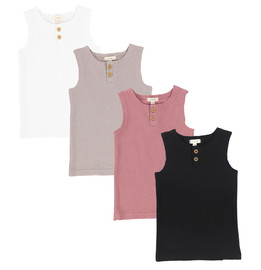 Lil legs Ribbed Tank Basic Colors