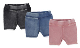 Analogie Denim Wash Shorts
