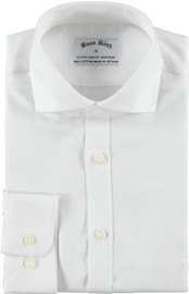 Boon Dash Boys Extra Slim Fit White Shirt