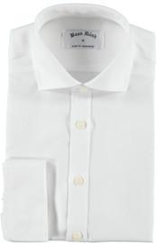 Boon Dash Boys French Cuff Slim White Shirt