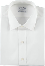 Boon Dash Men's Slim Fit White Shirt