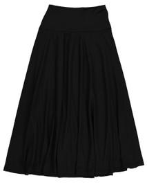 Girls Slinky Flair Long Skirt