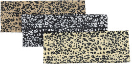Silk Leopard Ladies Headwrap
