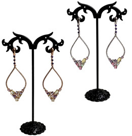 Open Marquise Earrings