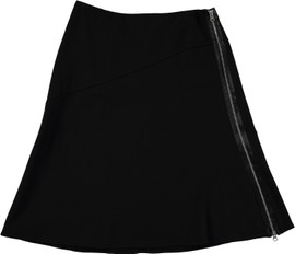 Women's A-Line Skirt With Zip