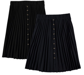 Women's Button Pleat Skirt