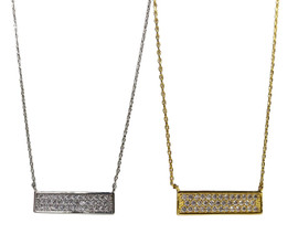 RECTANGLE SHAPED FASHION NECKLACE