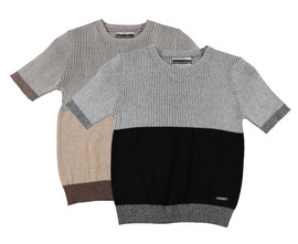 Boys Knit Pullover SS Sweater