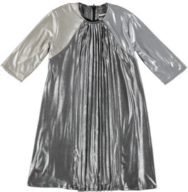 Girls Metallic Dress