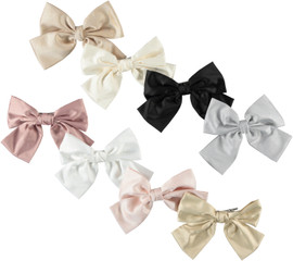 Silk Bow Medium Clip