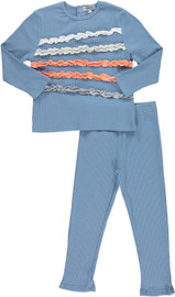 Boys Ruffled Pajamas