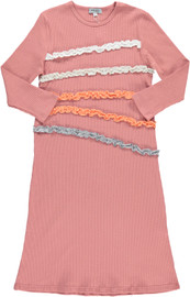 Girls Ruffled Night Gown