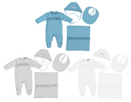 Solid 4Pc Stretchy Set