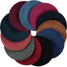 New Chenille Snood - Skinny Ribbed-Lined