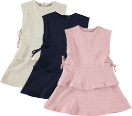 Girls Peplum Dress