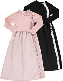 Girls Ruffled Shabbos Robe