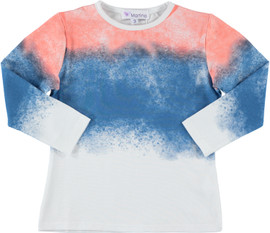 Girls Watercolor Cotton Tee