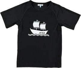 Boys Sailboat Swimwear Tee