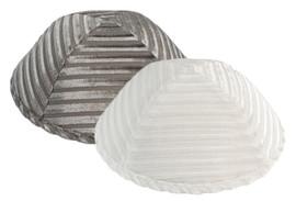Striped Velvet Yarmulka