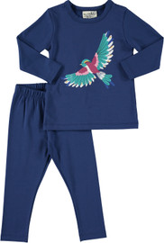 Gir'l Bird 2 Pc Pajama