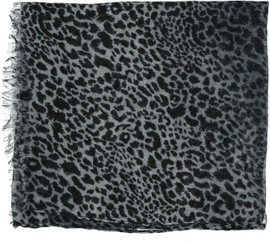 Mix Small Leopard Open Headscarves-HS116-OPEN