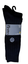 Men's Ribbed Extra Wear 3PP Socks